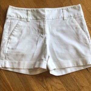Vince Camuto White Shorts